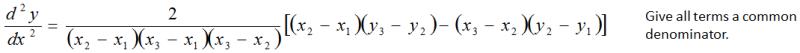 Equation Common Denominator