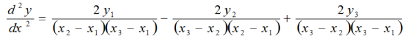 Equation Linear Combination of y Values