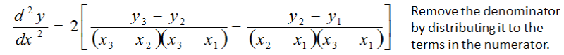 Equation Remove the Denominator