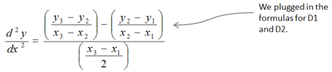 Equation Second Derivative Initial Answer